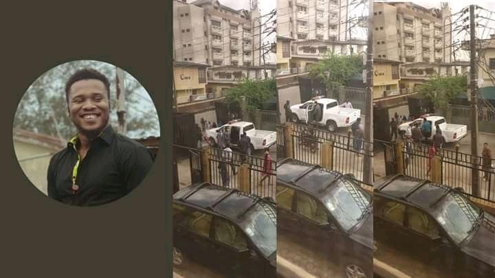 Nigerian Police Arrests #EndSars Promoter At His Lagos Residence