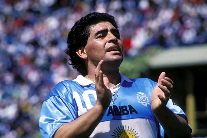 Argentine Football Icon, Maradona Is Dead