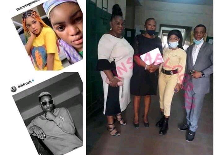 Singer Lil Frosh remanded in Ikoyi Prisons till March,2021