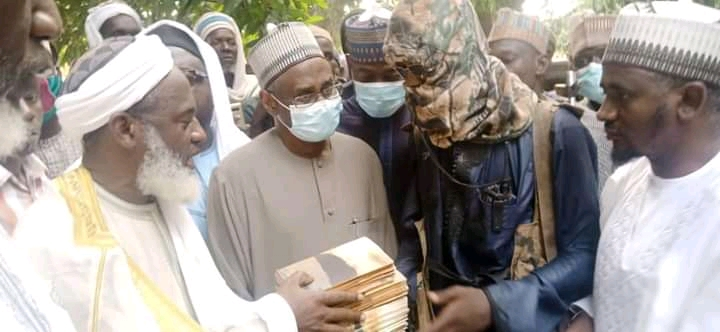 Islamic Cleric, Sheik Gumi Meets Bandits In Forest, Appeal For The Release Of Abductees