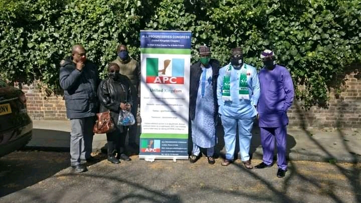 Photonews: APC Supporters Rally In Support Of Buhari In The UK