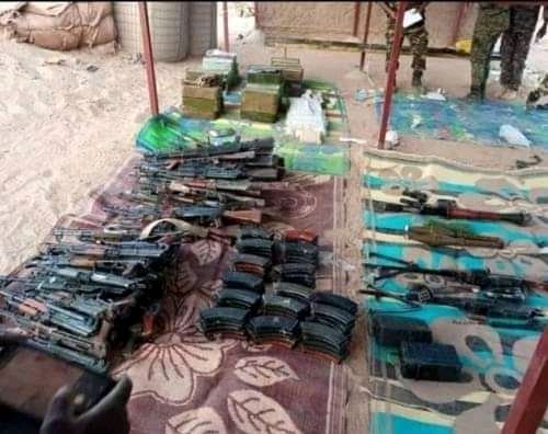Nigerien Security Intercepted Loads Of AK47 Rifles, RPGs, Others Coming To Nigeria From Libya