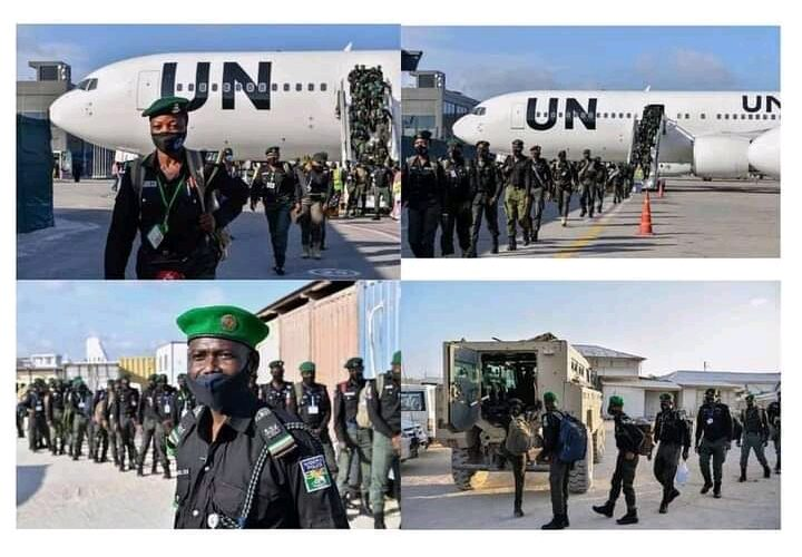 144 Nigerian police officers reportedly arrive in Somalia to boost security