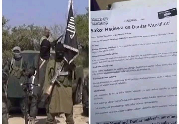 Boko Haram Distributes Recruitment Form During Attack In Geidam Town [Photo]