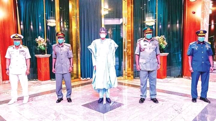 Nigerian military states position on call to take over power from Buhari